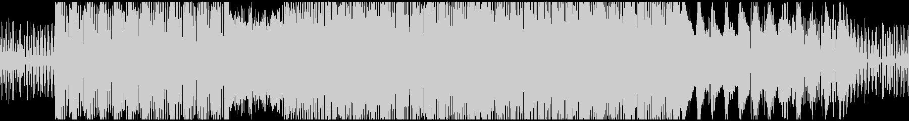 coolなシンセLOOPBGMの未再生の波形