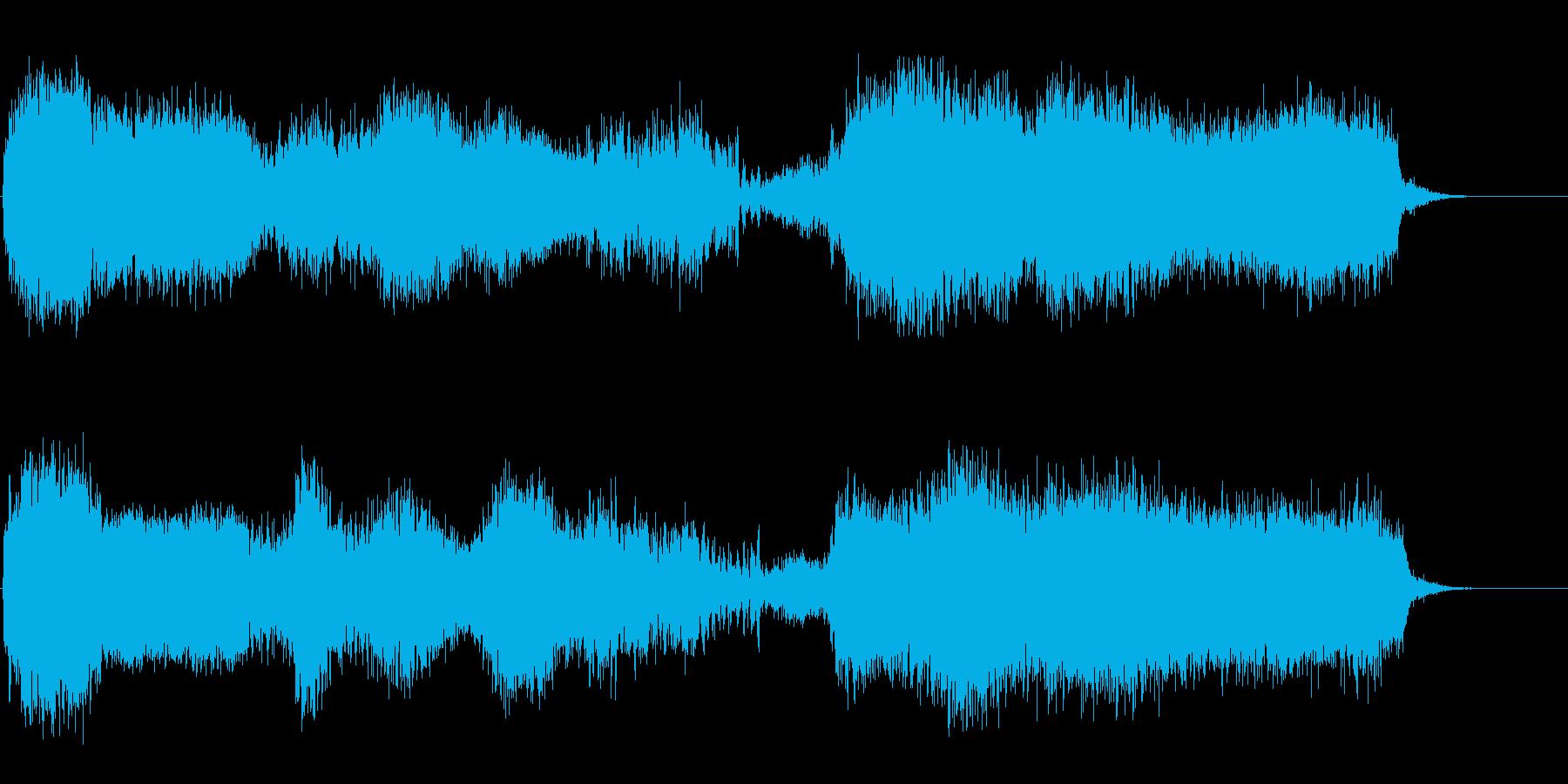 脱出速度の再生済みの波形