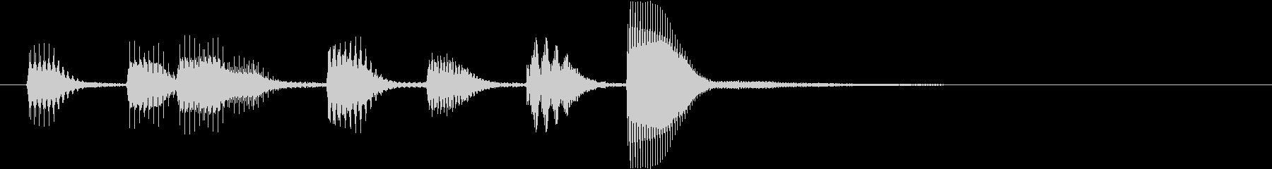 【ゲーム】レベルアップ〜ファミコン風〜の未再生の波形