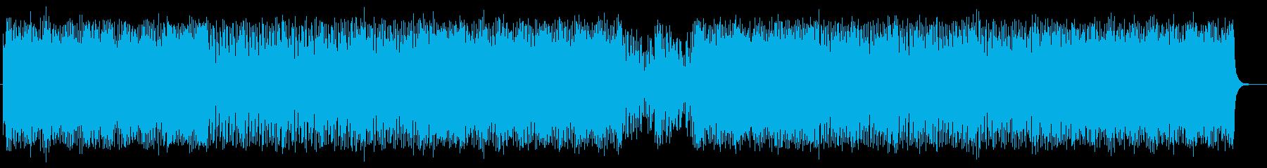 コミカルで楽しいアニメミュージックの再生済みの波形