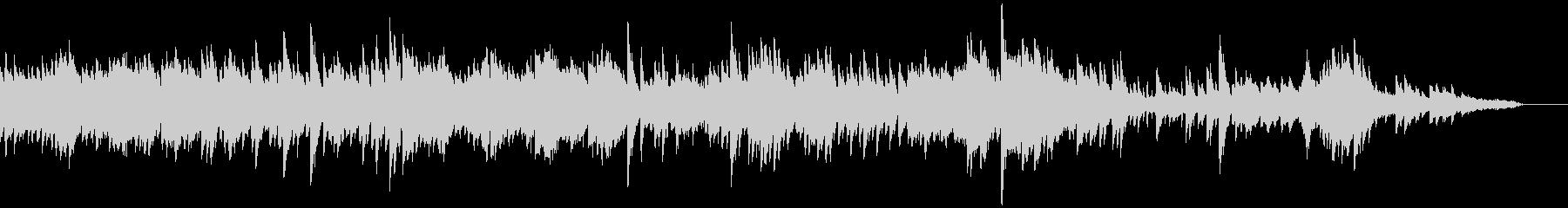 フレッシュな雰囲気のピアノソロジングル5の未再生の波形