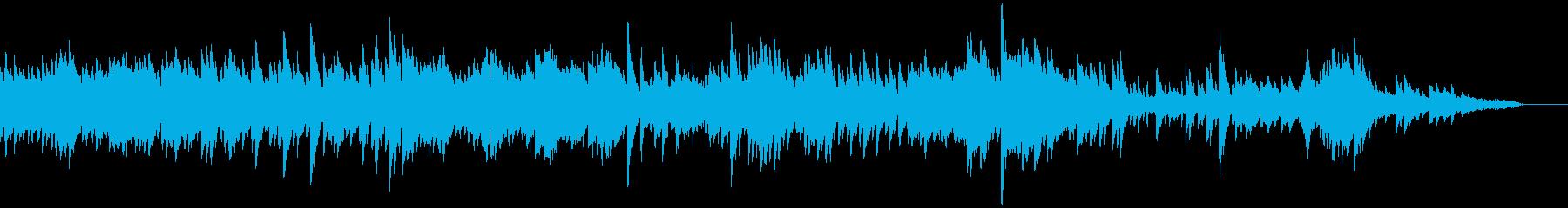 フレッシュな雰囲気のピアノソロジングル5の再生済みの波形