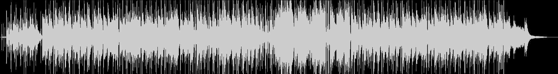 フルートの旋律が印象的なカフェ風ボサノバの未再生の波形