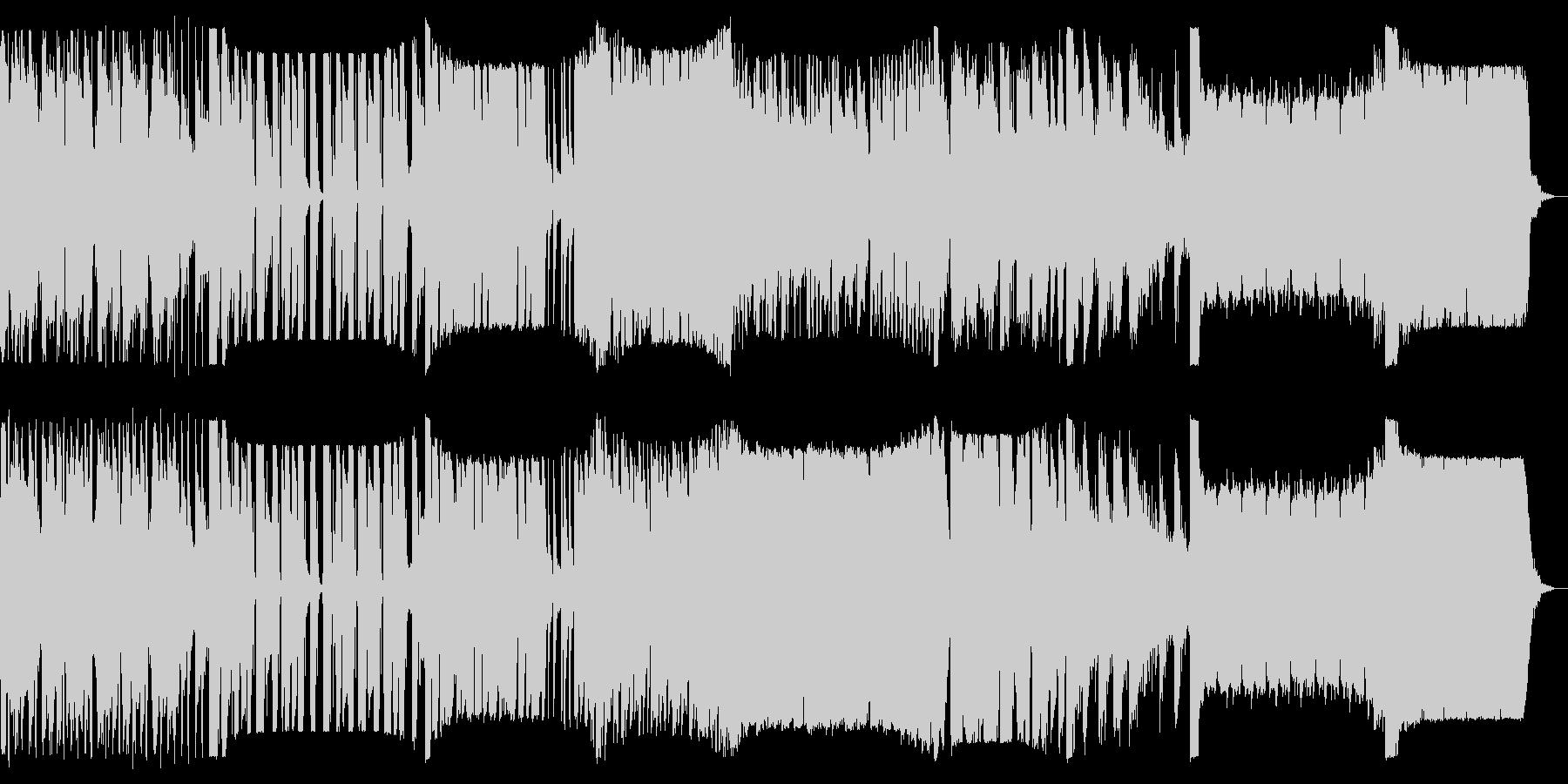 多ジャンルのイントロのリミックスの未再生の波形