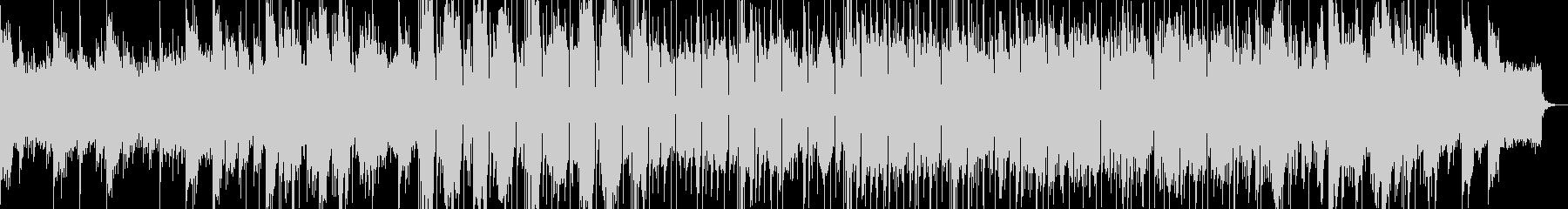 キツすぎないEDM風サウンド の未再生の波形