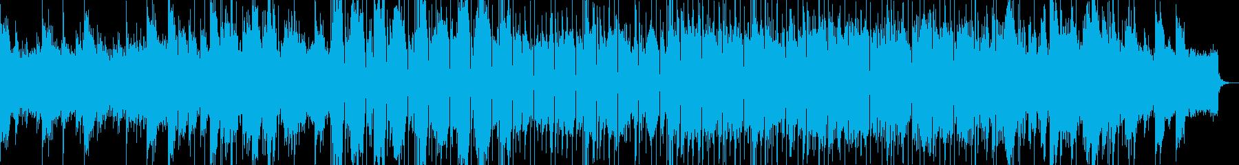 キツすぎないEDM風サウンド の再生済みの波形