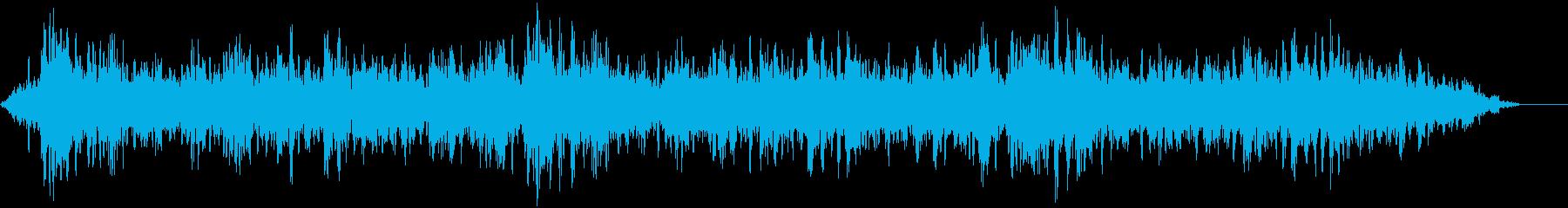 【ホラーゲーム】真夜中の雑音の再生済みの波形