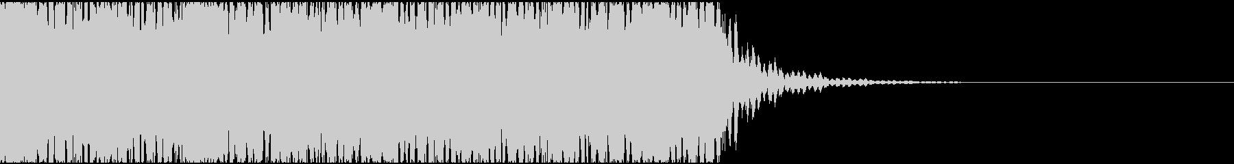 【エレクトロニカ】電子テクノ、ジングル1の未再生の波形