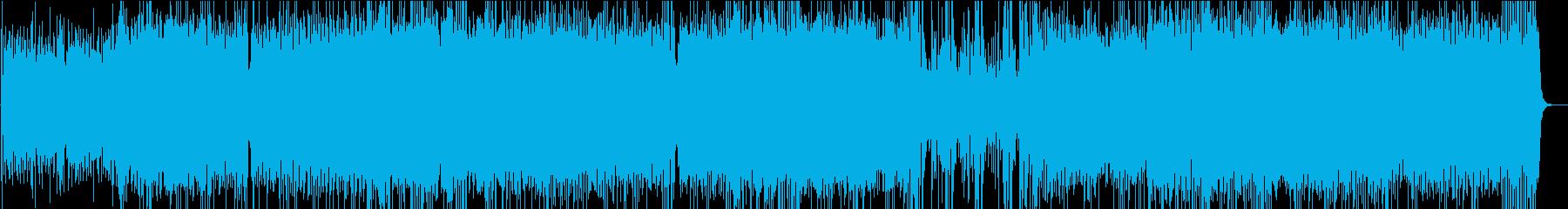 夏にピッタリのラテン・ロックの再生済みの波形