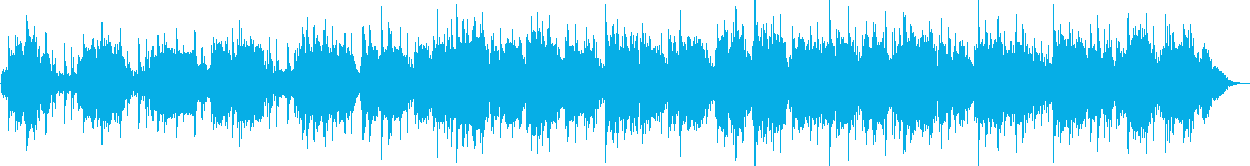 Quena and synthesizer healing music's reproduced waveform