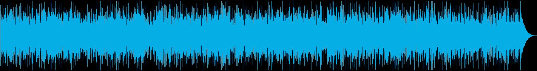 シンプル、クールなスムースジャズの再生済みの波形