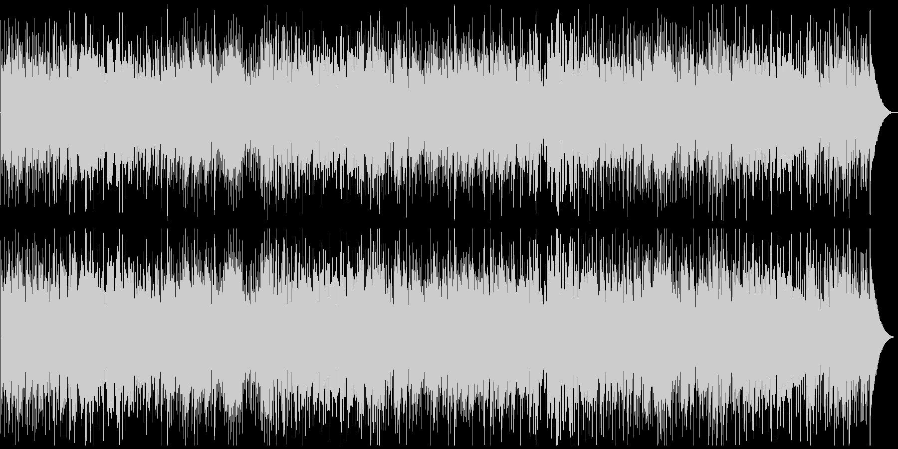 シンプル、クールなスムースジャズの未再生の波形