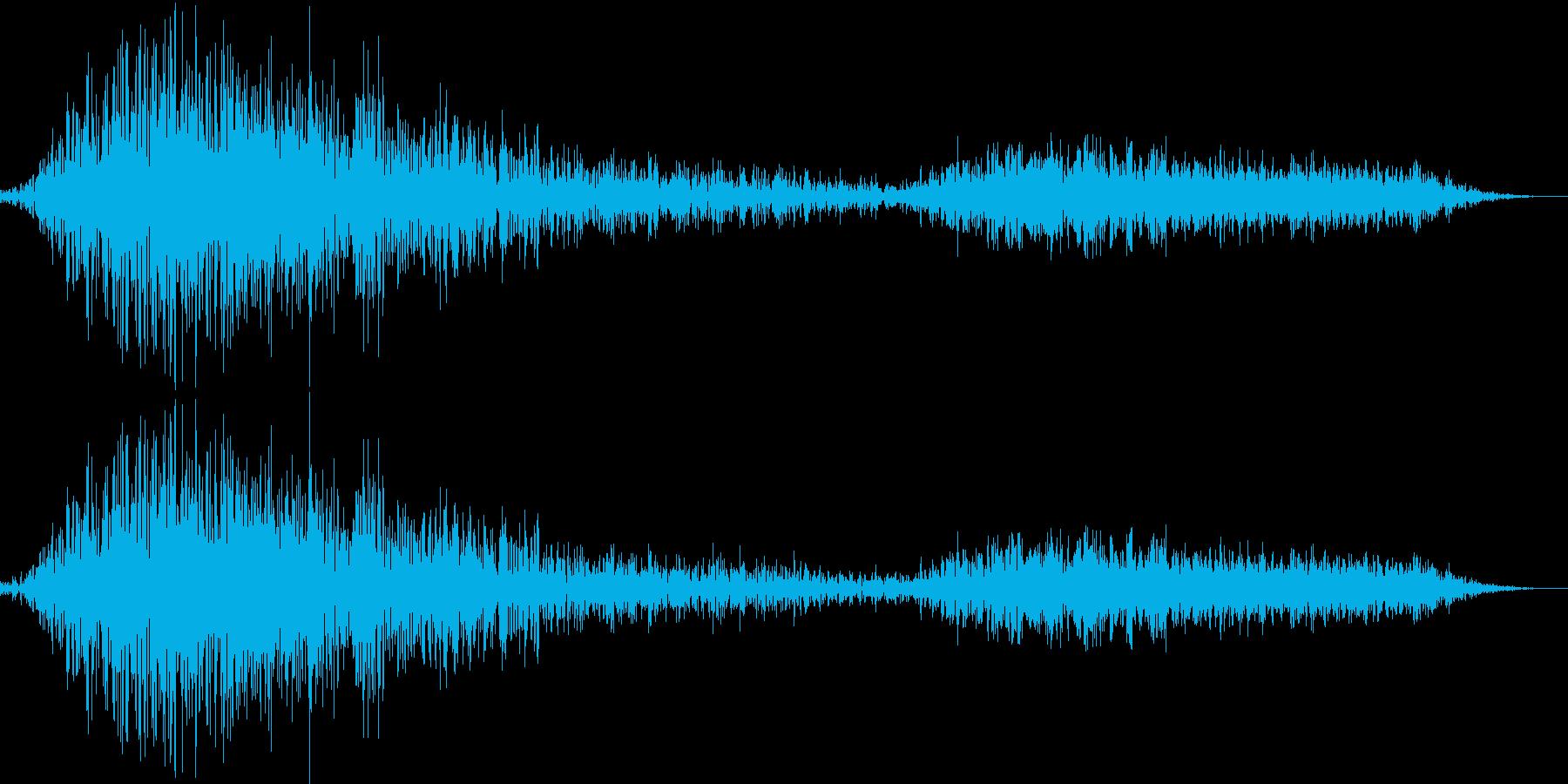 はぁはあ (息づかい)の再生済みの波形