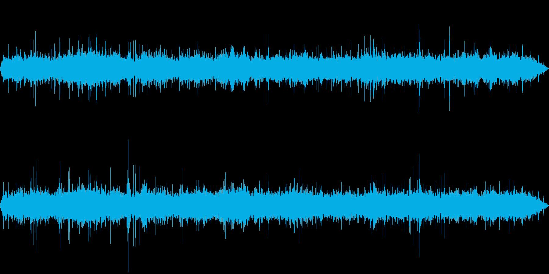 環境音-スーパーマーケット(レジ付近)の再生済みの波形