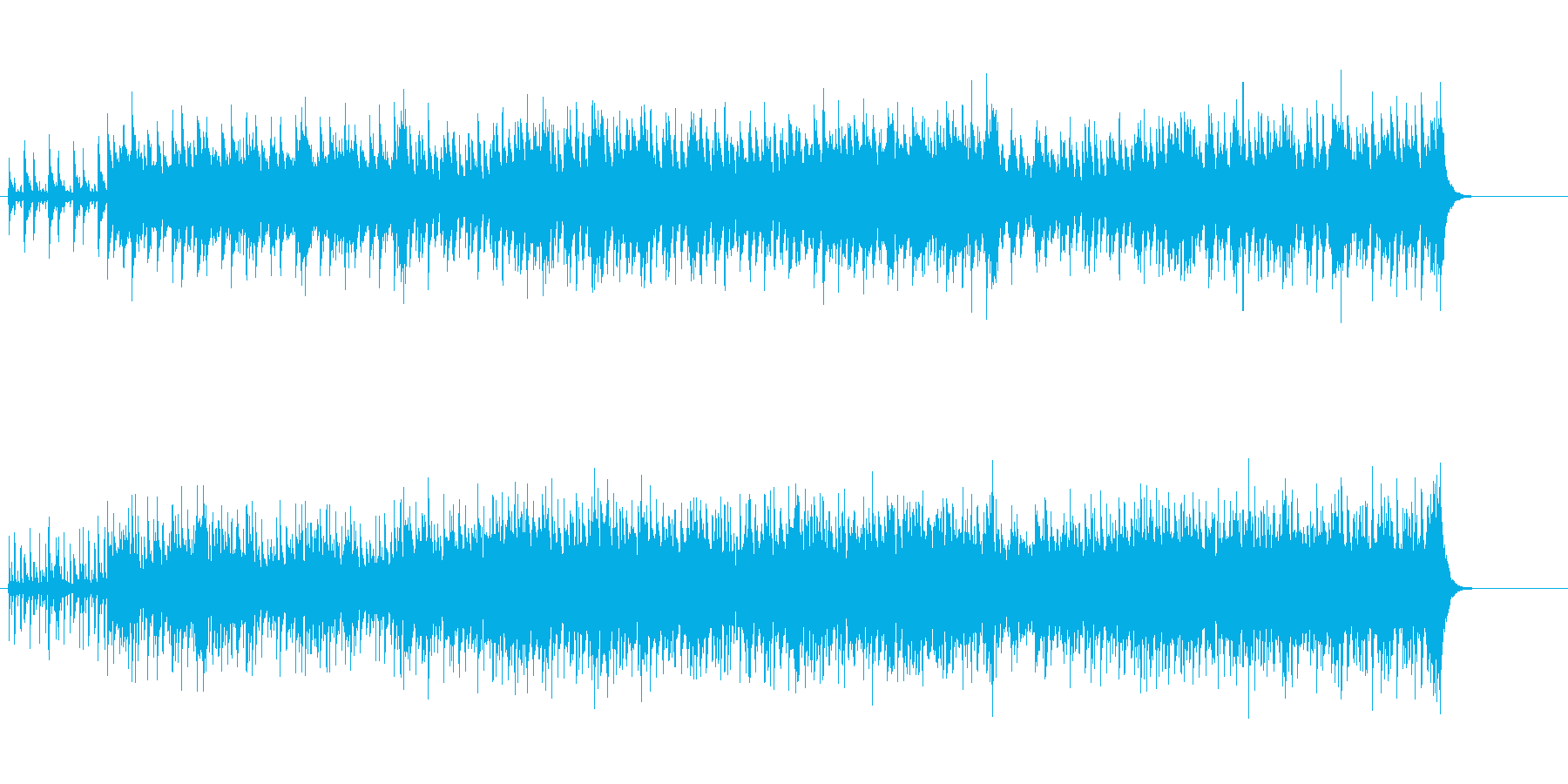 民族音楽風無国籍なエスノ・ポップスの再生済みの波形