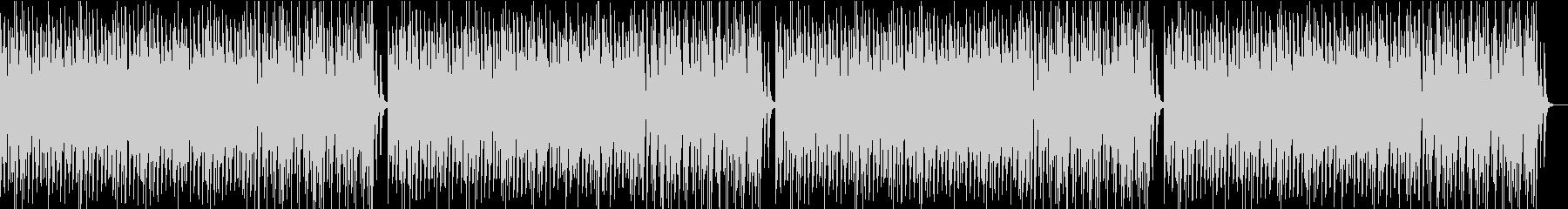 コミカルオーケストラ/静かめの未再生の波形