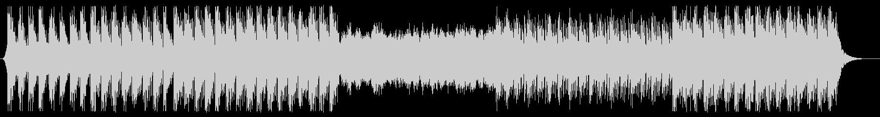 トークBGM向け、リラックス系エレクトロの未再生の波形
