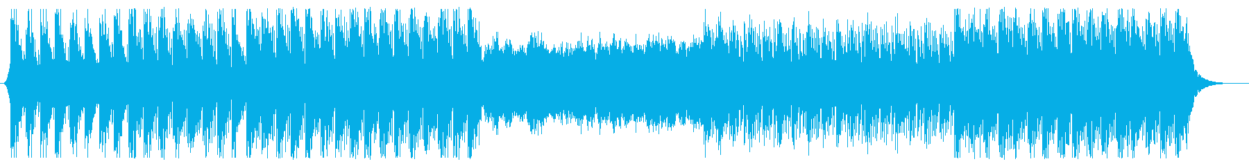 トークBGM向け、リラックス系エレクトロの再生済みの波形