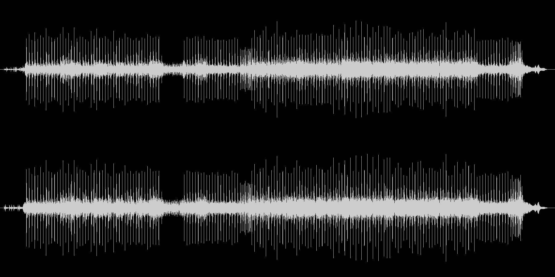 未来的なサウンドの未再生の波形