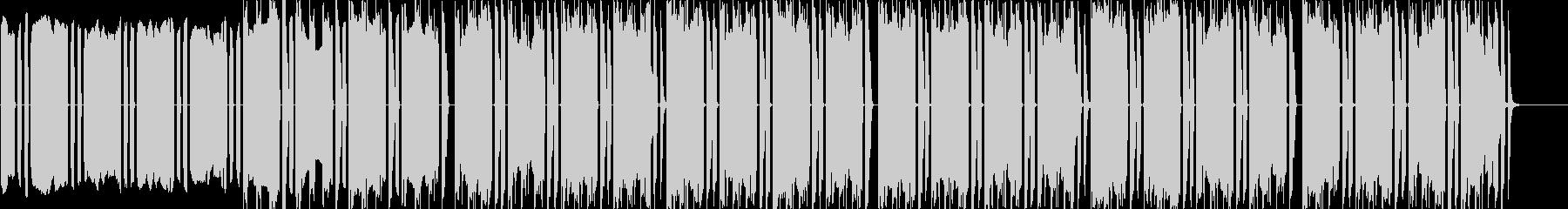 リズムに意外性を盛り込んだテクノの未再生の波形