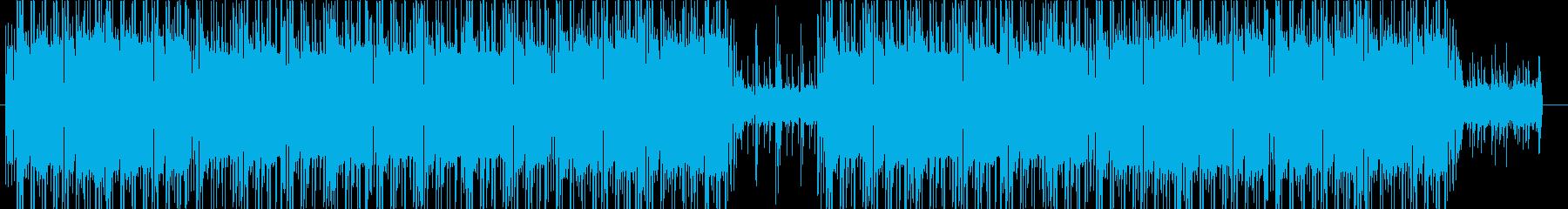 洋楽、90sヒップホップビート♫の再生済みの波形