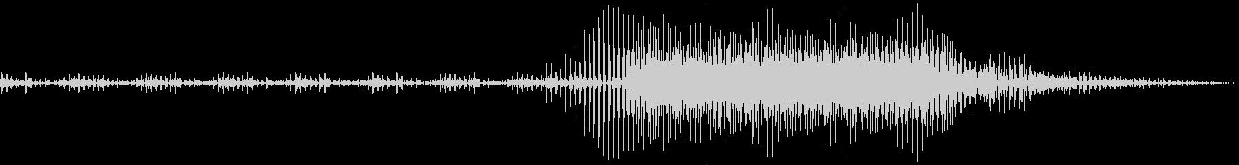 AMGアナログFX 14の未再生の波形