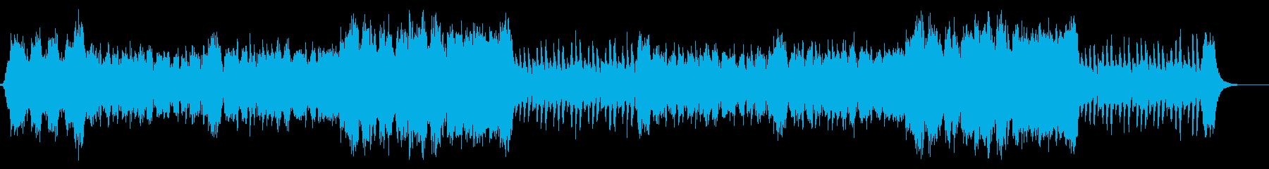 フルオーケストラ。RPGのオープニング風の再生済みの波形