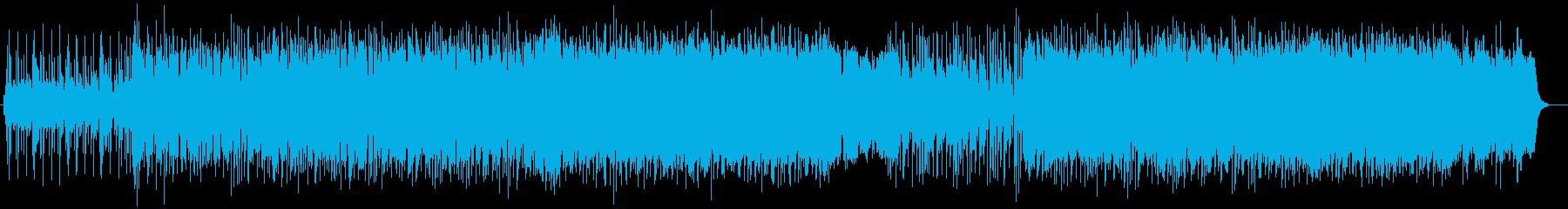 弾ける爽快さのあるミュージックの再生済みの波形
