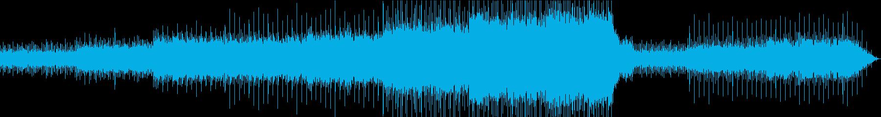 幻想的で浮遊感のあるエレクトロニカの再生済みの波形