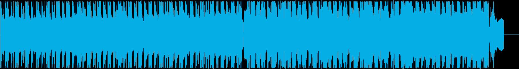 映像系ロックでアツいオープニングの再生済みの波形