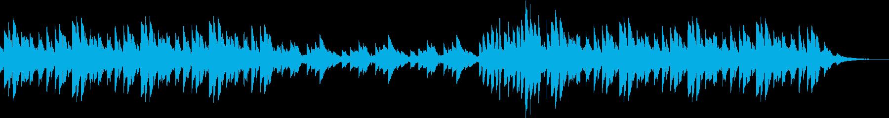 ドリーミーなベルによるオルゴールの再生済みの波形
