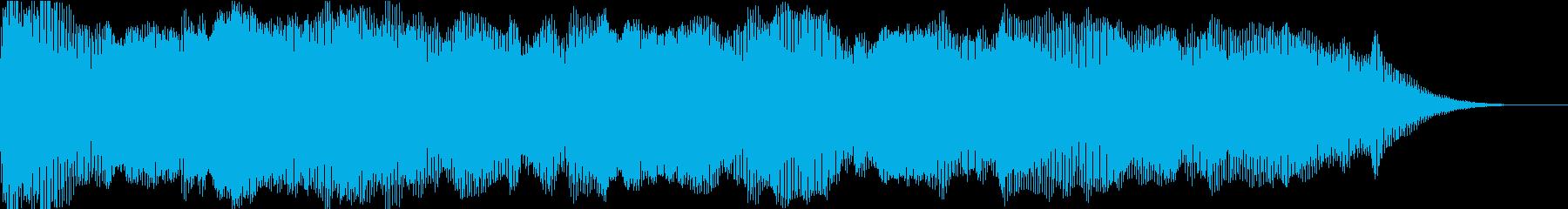 ムードレイヤーの再生済みの波形