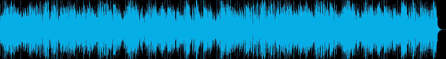 寂しい別れのトランペット曲の再生済みの波形