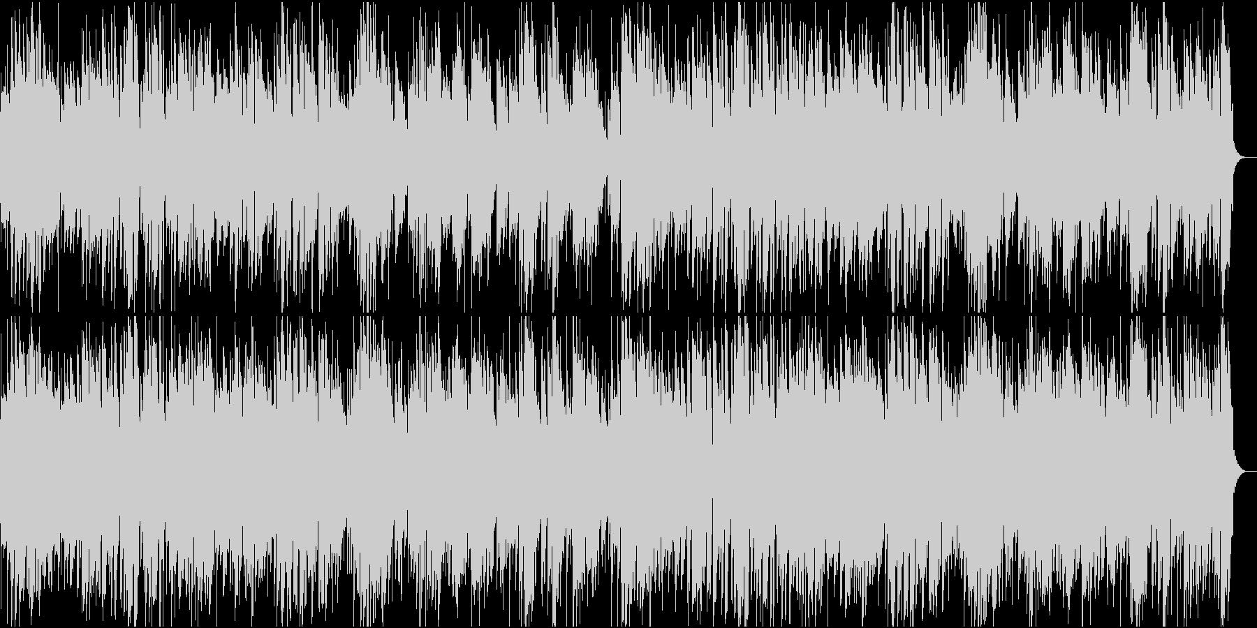 寂しい別れのトランペット曲の未再生の波形