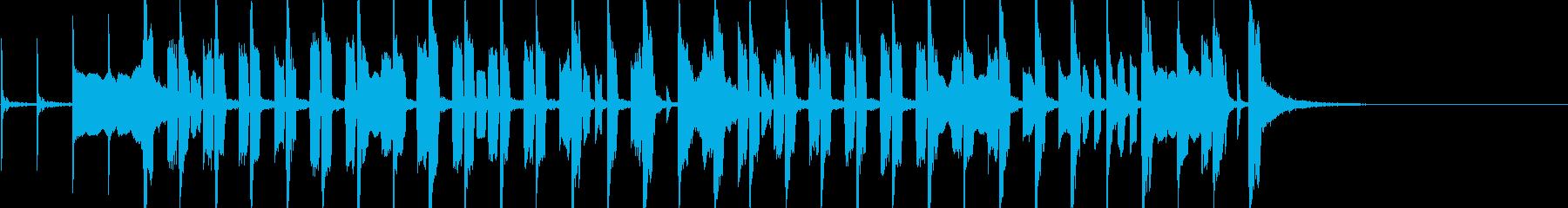 口笛吹きと犬/ポップアレンジの再生済みの波形