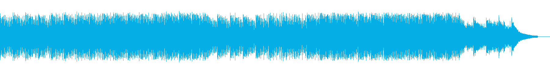 企業VP会社紹介 透明感爽やか疾走感A5の再生済みの波形
