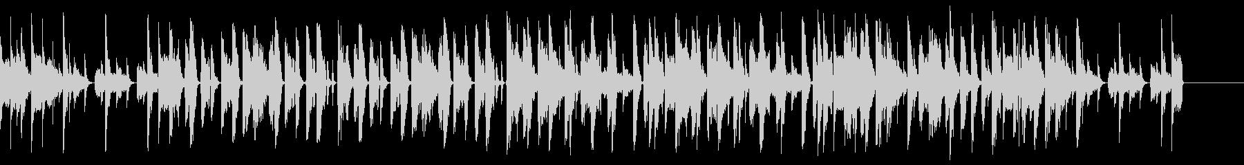 DJ エレクトロ ベース ジングルの未再生の波形