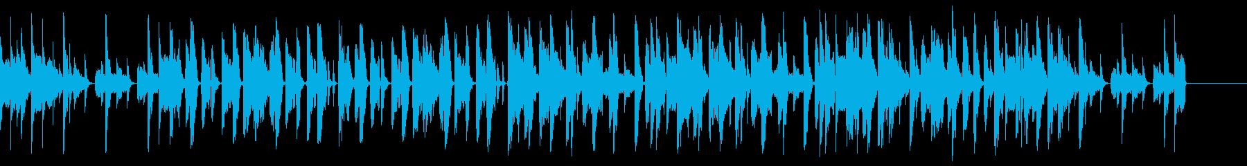 DJ エレクトロ ベース ジングルの再生済みの波形