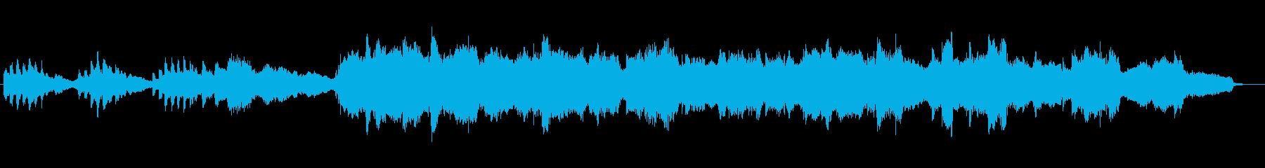オーボエが印象的な優しい雰囲気のジングルの再生済みの波形