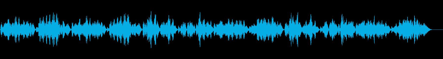 ヘンデル作曲ブーレをヴァイオリンソロでの再生済みの波形