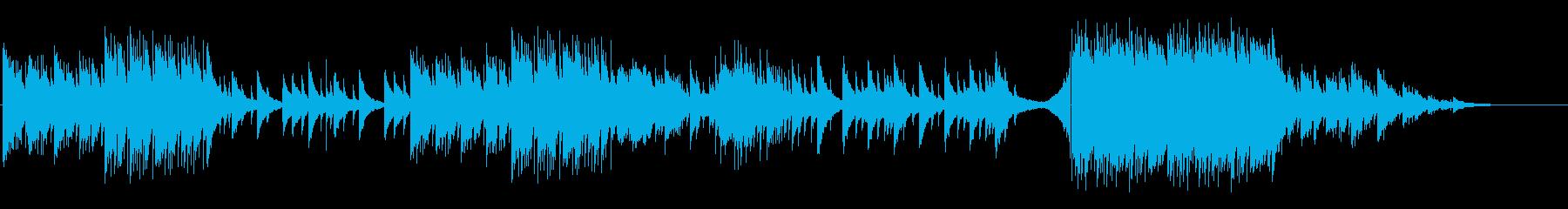 幻想的で儚いイメージのピアノソロの再生済みの波形