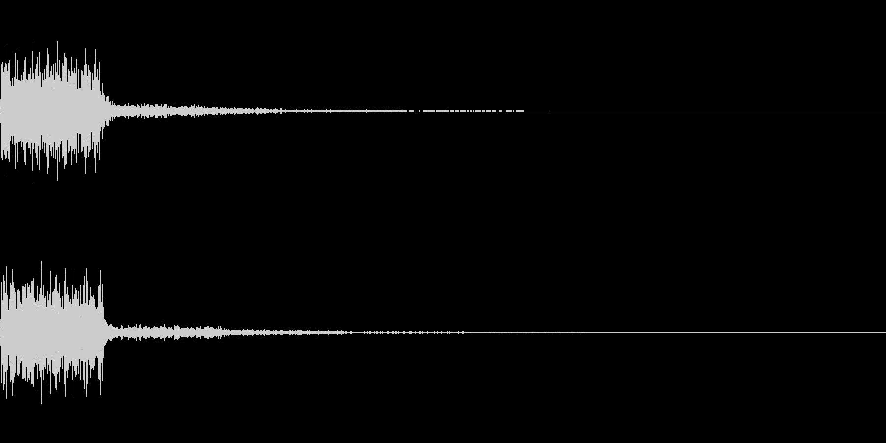 【SE 効果音】SF的な音8の未再生の波形