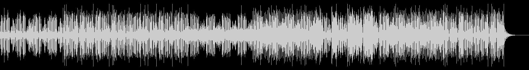 サスペンス・ミステリーの雰囲気エレクトロの未再生の波形