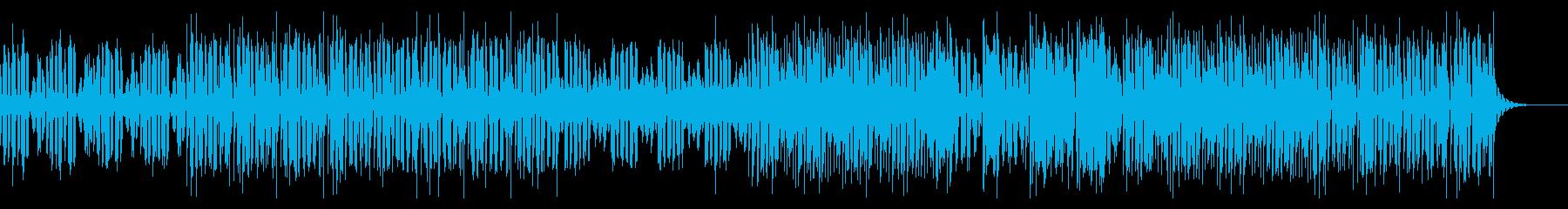 サスペンス・ミステリーの雰囲気エレクトロの再生済みの波形