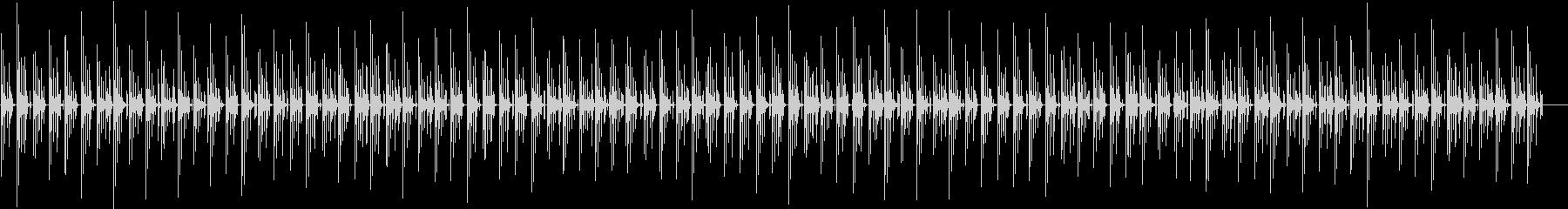 ゆったりとした雰囲気の曲の未再生の波形