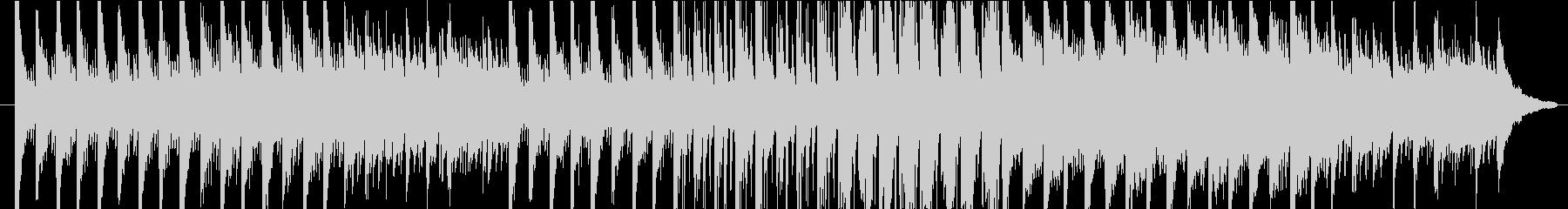 力強い音色が綺麗なメロディーの未再生の波形