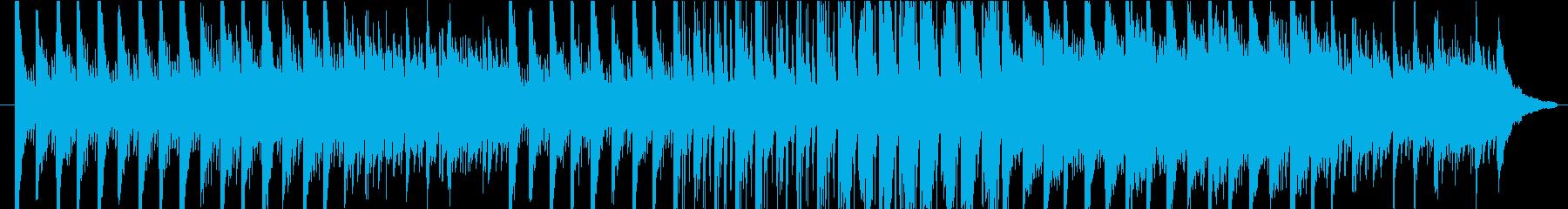 力強い音色が綺麗なメロディーの再生済みの波形