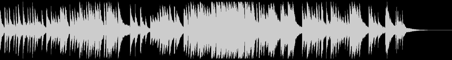 エモーショナルなピアノソロの未再生の波形