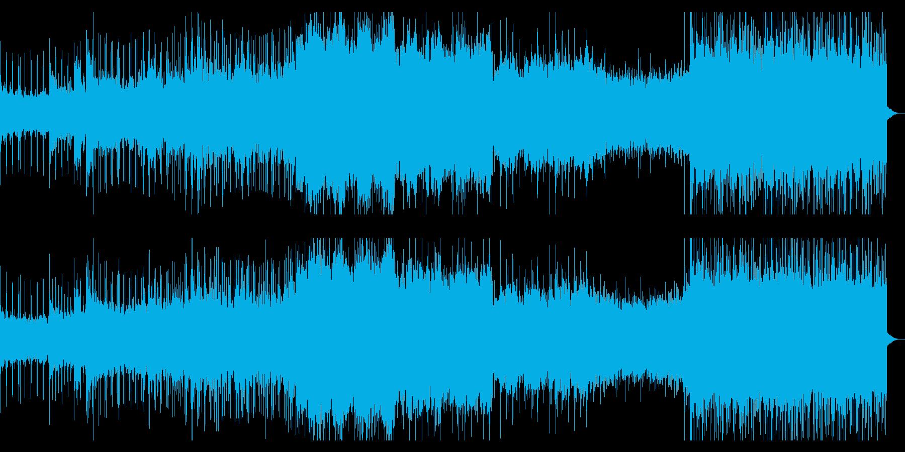 ダークで幻想的なアンビエントメタルの再生済みの波形