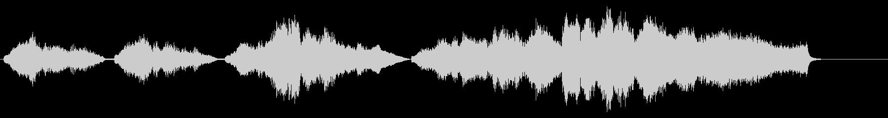 感動的なシーンで流れそうなストリングスの未再生の波形
